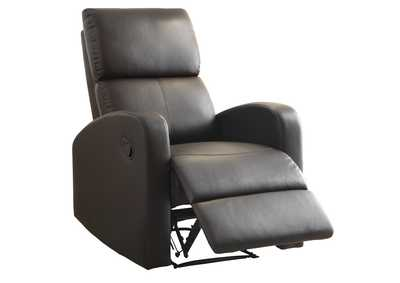 Mendon Dark Brown Reclining Chair