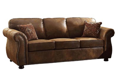 Corvallis Bomber Jacket Microfiber Sofa w/Sleeper & Mattress