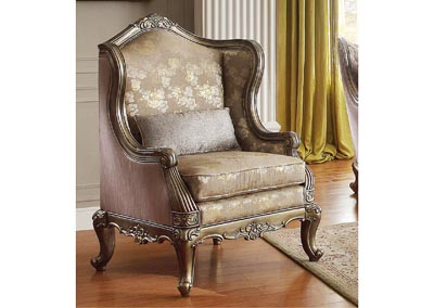 Florentina Dusky Taupe Accent Chair