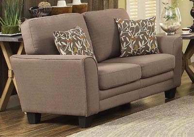 Adair Grey Loveseat