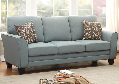 Image for Adair Teal Sofa