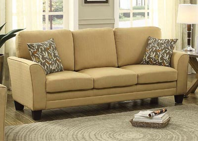 Image for Adair Yellow Sofa