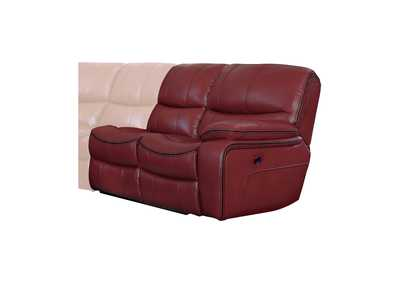 Pecos Red Right Side Reclining Love Seat