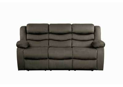 Image for Discus Brown Double Reclining Sofa