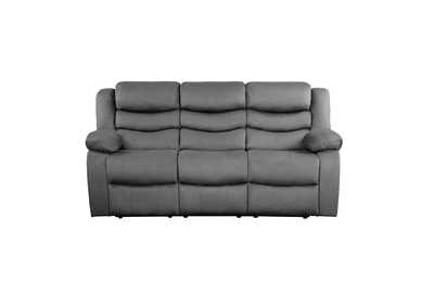 Image for Discus Grey Double Reclining Sofa