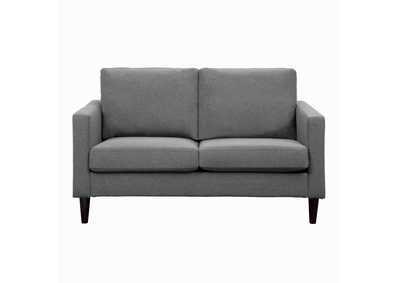 Image for Halliday Grey Love Seat