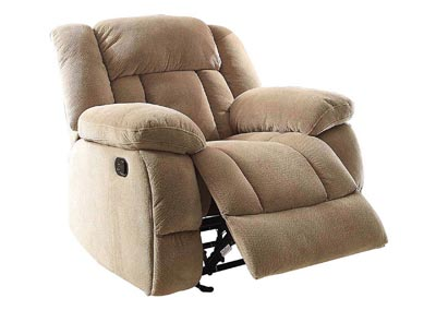 Laurelton Taupe Glider Reclining Chair