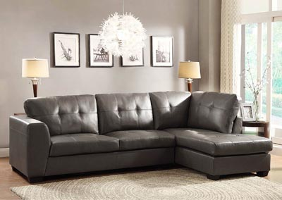 Image for Springer Grey Left Facing Seater Sectional