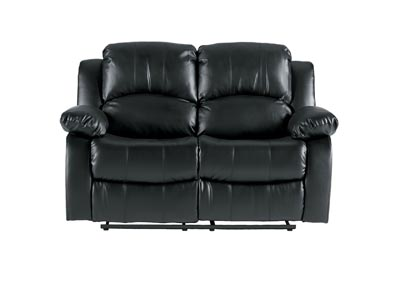 Granley Black Double Reclining Love Seat