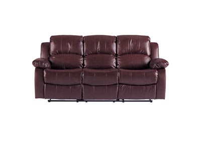Cranley  Brown Double Reclining Sofa