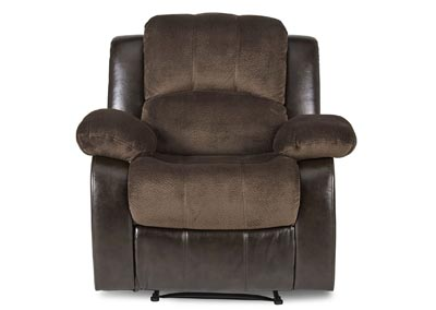 Image for Granley Chocolate Reclining Chair