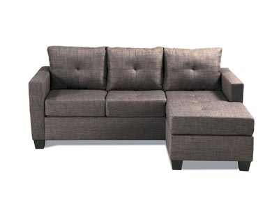 Image for Phelps Brownish Grey Reversible Sofa Chaise