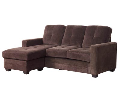 Phelps Chocolate Sofa Sectional