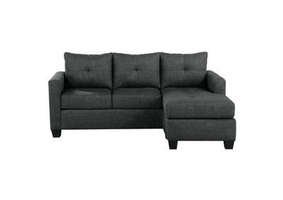 Image for Phelps Dark Grey Reversible Sofa Chaise