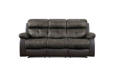 Image for Acadia Brown Double Reclining Sofa