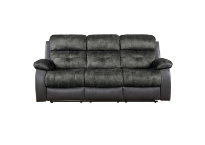 Image for Acadia Grey Double Reclining Sofa