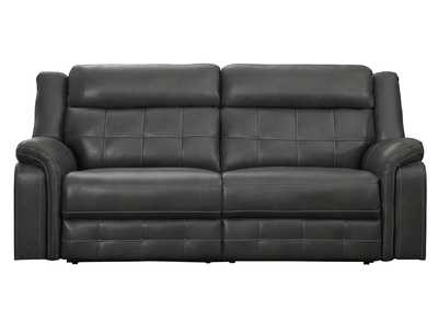 Image for Keridge Grey Double Reclining Sofa