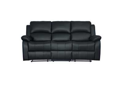 Image for Clarkdale Black Double Reclining Sofa W/ Center Drop-Down Cup Holders