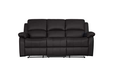 Image for Clarkdale Dark Brown Double Reclining Sofa W/ Center Drop-Down Cup Holders