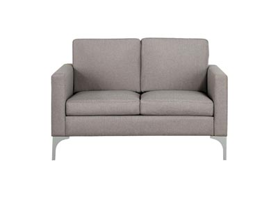 Image for Soho Brownish Grey Love Seat