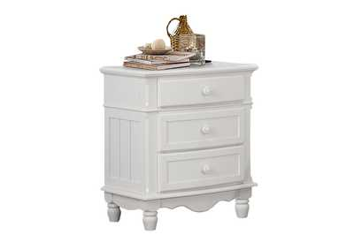 Clementine White Night Stand