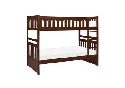Image for Rowe Dark Cherry Twin/Twin Bunk Bed