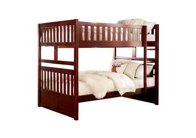 Image for Rowe Cherry Full/Full Bunk Bed
