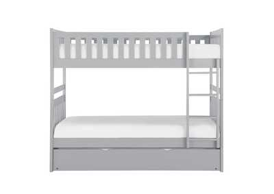 Image for Orion Grey Twin/Twin Bunk Bed W/ Twin Trundle