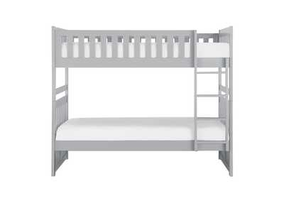Image for Orion Grey Twin/Twin Bunk Bed