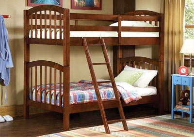 Michael Rich Brown Pine Bunkbed