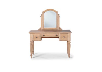 Image for Cambridge Whitewash Vanity With Mirror by Homestyles