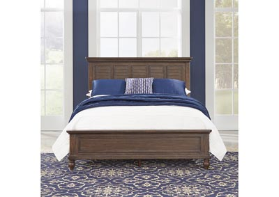 Image for Southport Distressed Oak Queen Bed by Homestyles