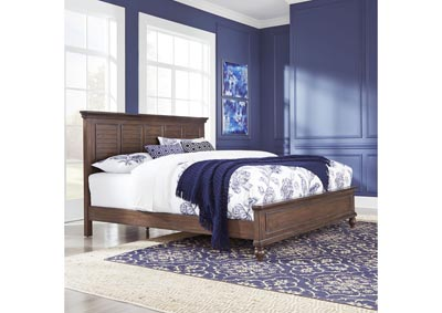 Image for Southport Distressed Oak King Bed by Homestyles