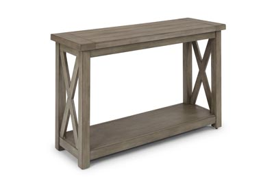 Image for Mountain Lodge Gray Console Table by Homestyles