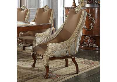 Image for Brown Formal Dining Chairs [Set of 2]