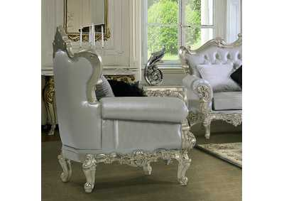 Image for Belle Silver Arm Chair