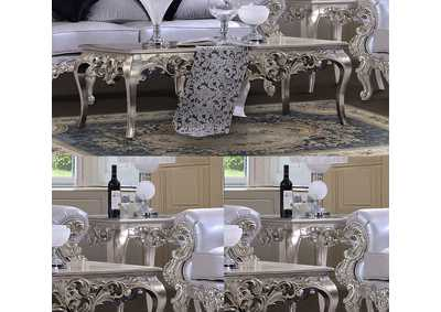 Image for Belle Silver Coffee Table