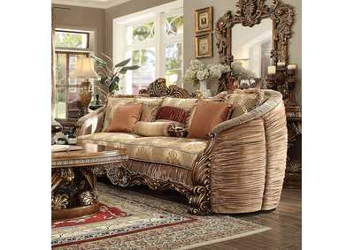 Image for Antique Gold Sofa