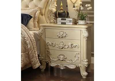 Image for Cream Nightstand