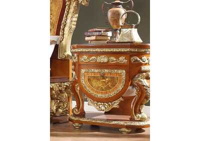 Image for Gold Nightstand