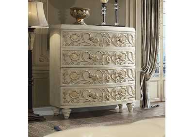 Image for Plantation Cove White Chest