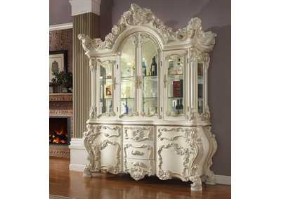 Image for White Gloss China Cabinet