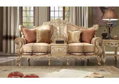 Image for Gold Sofa