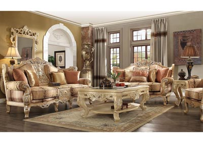 Image for Gold Loveseat