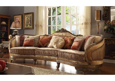 Image for Van Dyke Brown Sectional