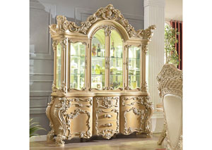 Image for Gold & Cream China Cabinet