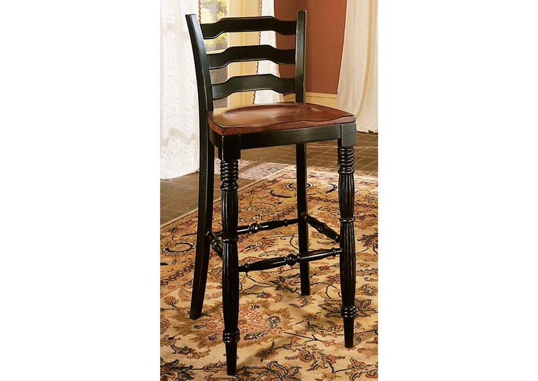 Surprising Jesup Furniture Outlet Indigo Creek Black Bar Stool Machost Co Dining Chair Design Ideas Machostcouk