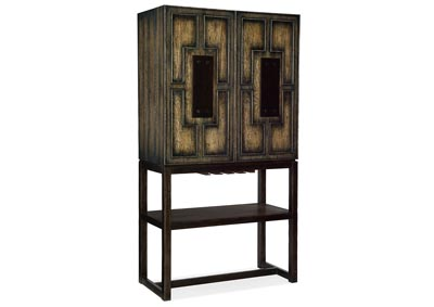 Image for American Life-Crafted Taupe Bar Cabinet