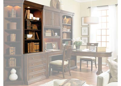 Cherry Creek Lateral File w/ Open Hutch