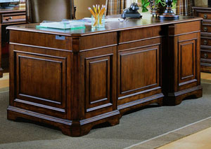 Brookhaven Executive Desk (Wood Top)